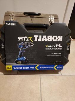 Kobalt XTR 24-Volt Max 1/2-in Brushless Cordless Drill